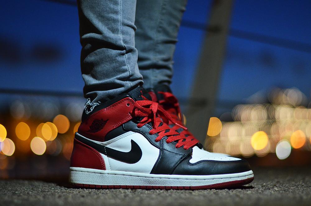 "Nike air Jordan 1 mid 'old love"""