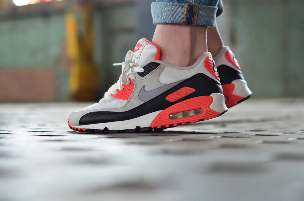 pick up 64a29 447ed ... wholesale nike air max 90 infrared 7d68c 51b5a