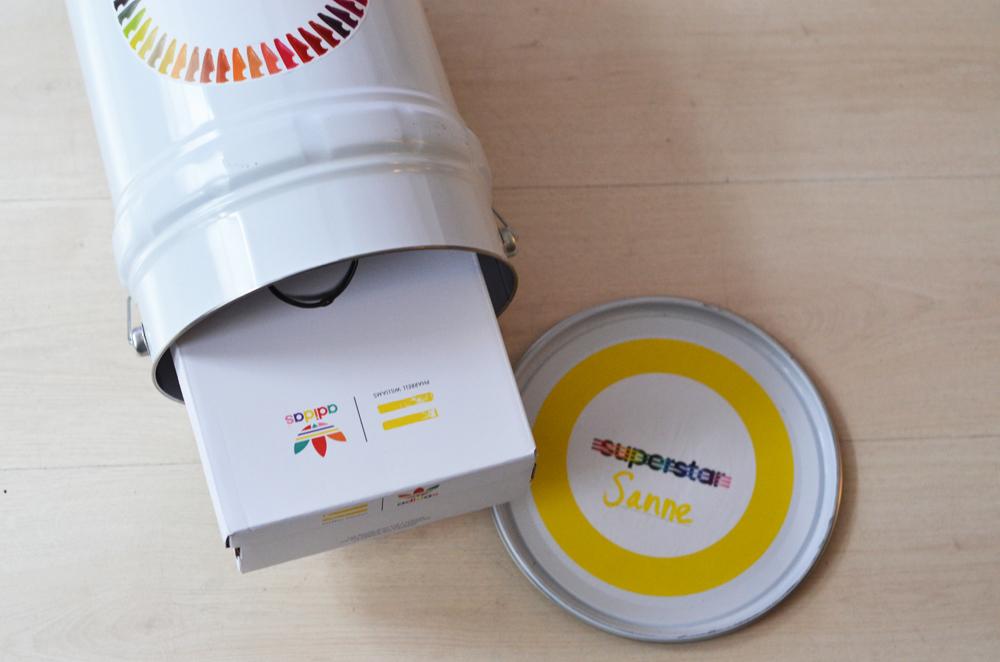 Adidas x Pharrell Supercolor
