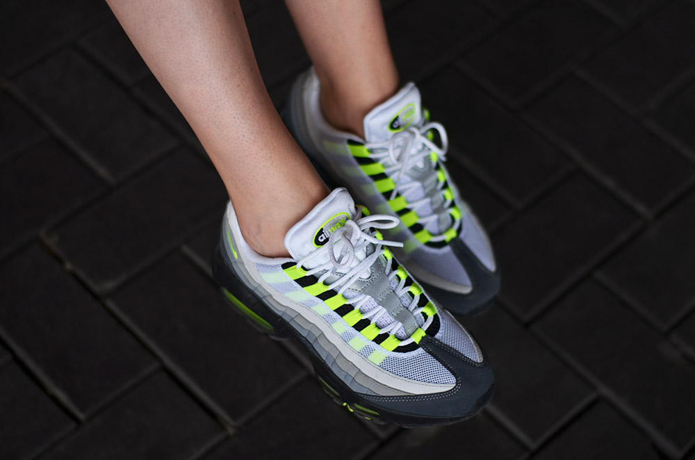 nike air max 95 og neon 2015 girls