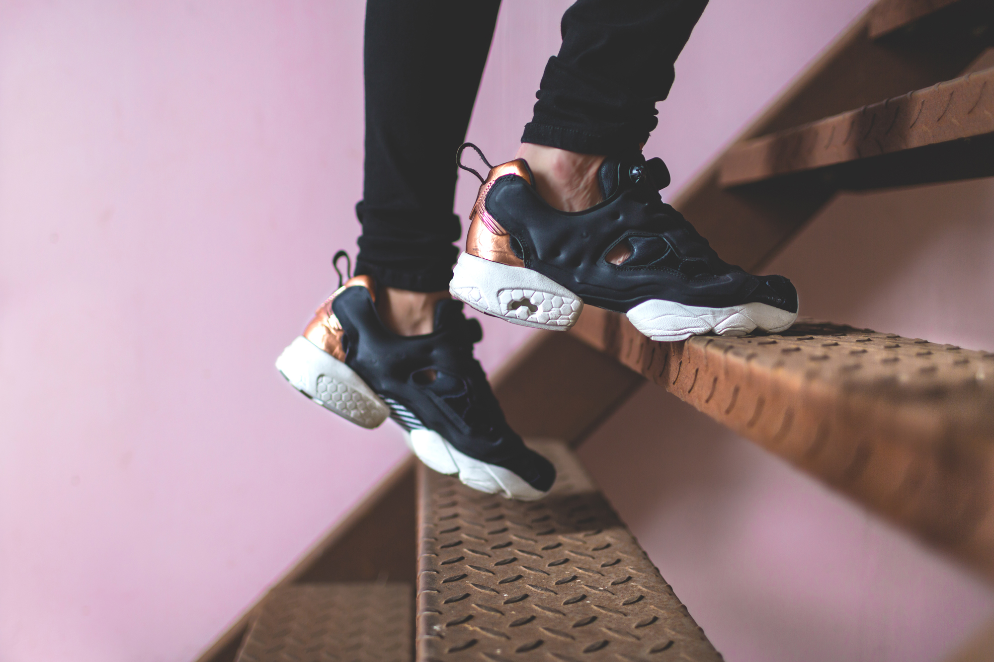 Reebok Pump Fury Rose Gold