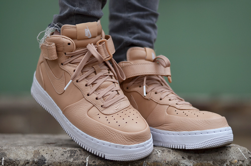 NikeLab Air Force 1 mid 'Vachetta Tan'