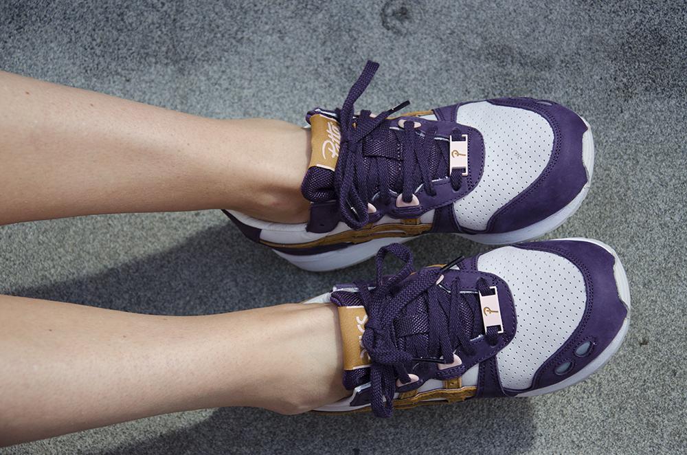 Patta x ASICS Girl on kicks