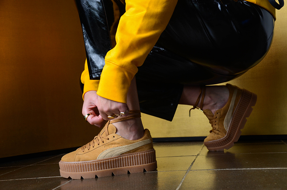 best website da9d4 62474 Fenty x PUMA Cleated Creeper - Girl on kicks